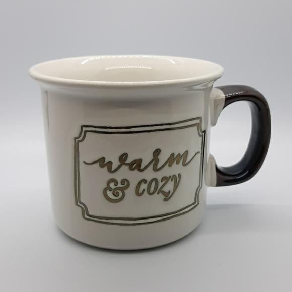 Warm and Cozy Large Coffee Mug